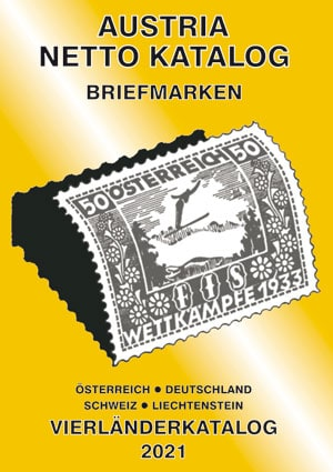 Austria Netto Katalog (ANK) – Four country stamp catalogue 2021