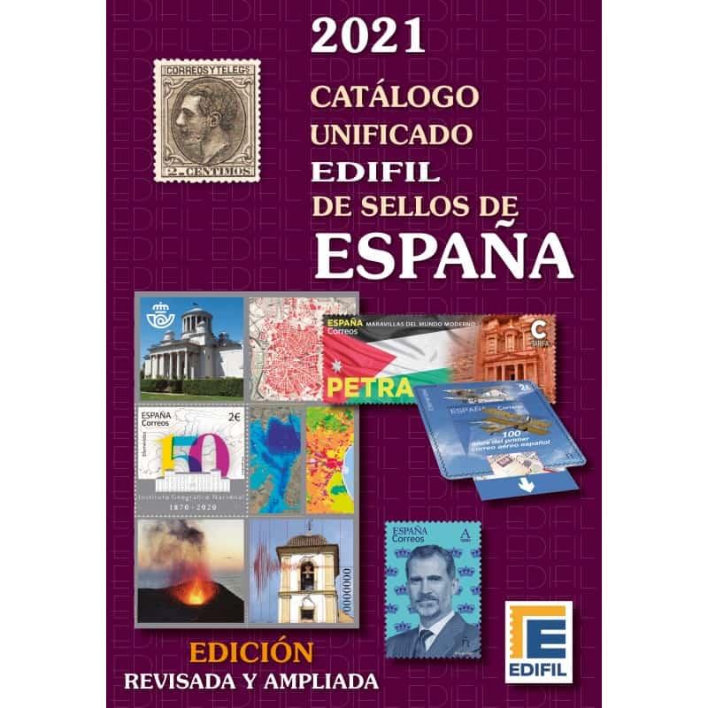 Edifil Spain Stamp Catalog 2021