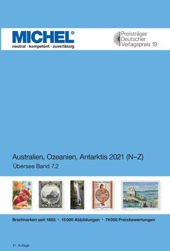 Michel Australia/Oceania/Antarctica 2021 – Volume 2 N-Z