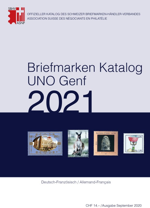 SBK – Stamp Catalogue UNO Geneva 2021