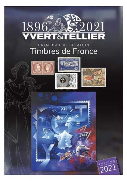 Yvert & Tellier Stamp Catalogue 2021 – Volume 1 France
