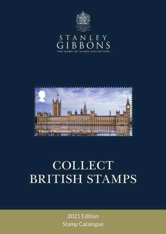 Stanley Gibbons 2021 Collect British Stamps Catalogue