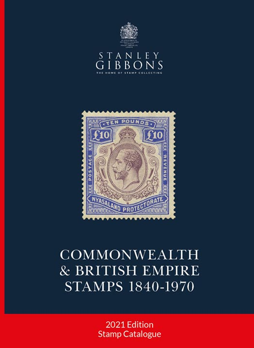 Stanley Gibbons 2021 Commonwealth & British Empire Stamp Catalogue 1840-1970