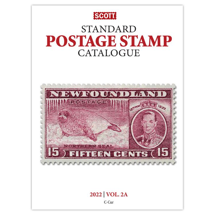 2022 Scott Catalogue Volume 2 – (Countries C-F)