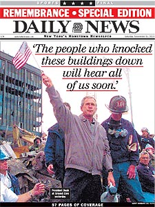 [New York Daily News 9/14/01]