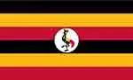 Uganda flag courtesy of FlagPictures.org