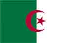 Algeria flag courtesy of FlagPictures.org