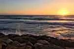 Tel Aviv sunset (according to Pixabay.com)