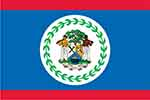 Belize flag (courtesy of FlagPictures.org)