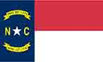 North Carolina state flag courtesy of FlagPictures.org