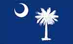 South Carolina state flag courtesy of FlagPictures.org