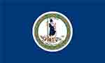 Virginia state flag courtesy of FlagPictures.org