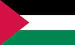 Palestine's flag (courtesy of FlagPictures.org)