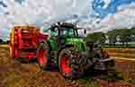 Tractor with grain mixer (courtesy of Pixabay.com)