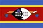 Swaziland/Eswatini flag (courtesy of Wikimedia Commons)