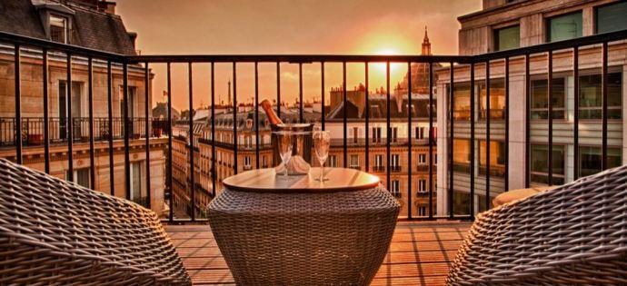 hotel-wo-wilson-opera-elegancia hotéis em Paris mais caros