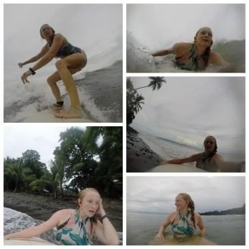 Surf Pavones Collage