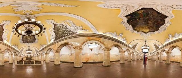Petersburg Subway Russia St Map