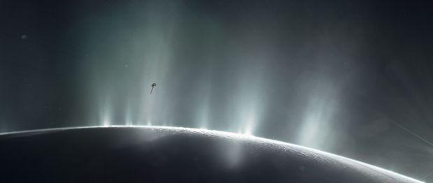 life on Saturn's Moon