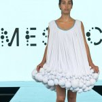 Dress made from cow manure: would you wear it?
