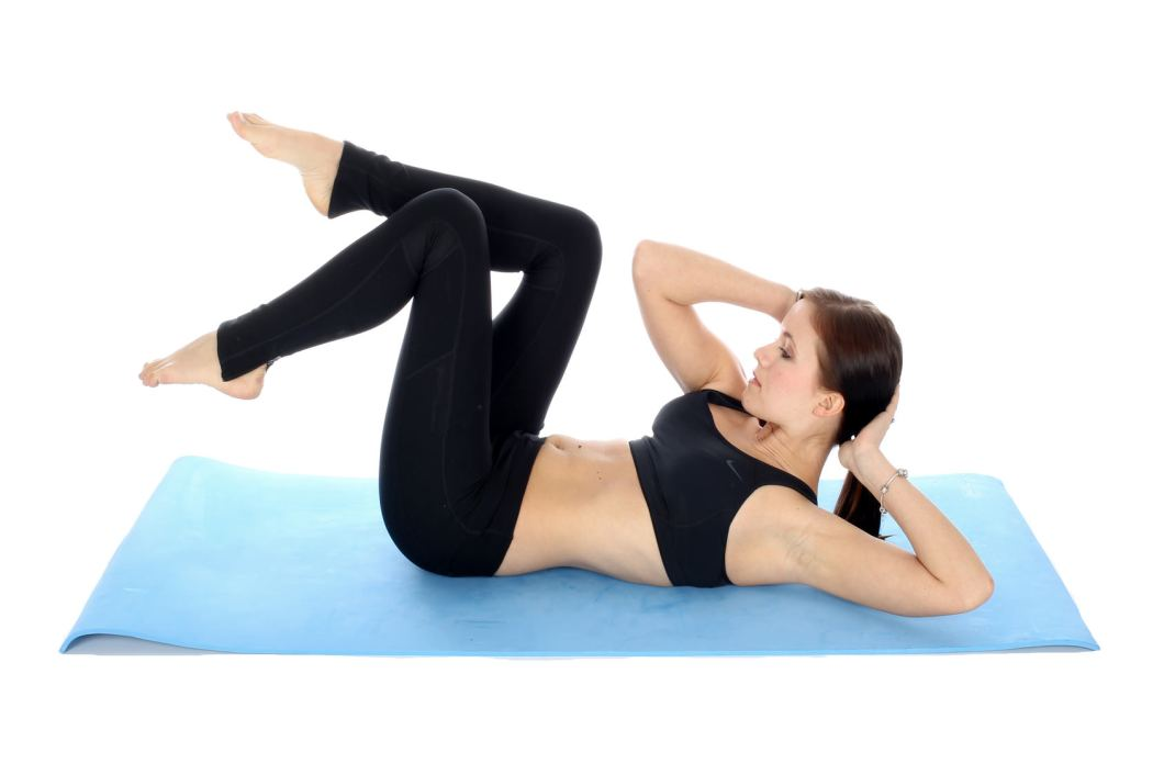 Belly fat - Bicycle exercise