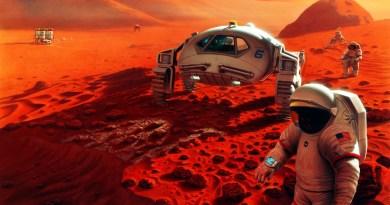 Mars soil
