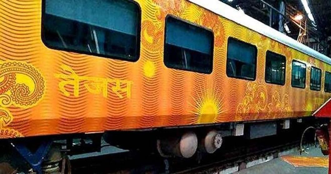 indian railway tejas train