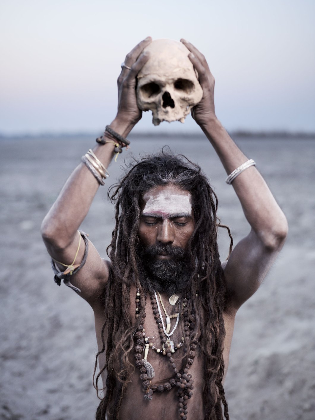 Black magic practices and necrophilia are strange ritual of Aghori sadhus in Himalayas