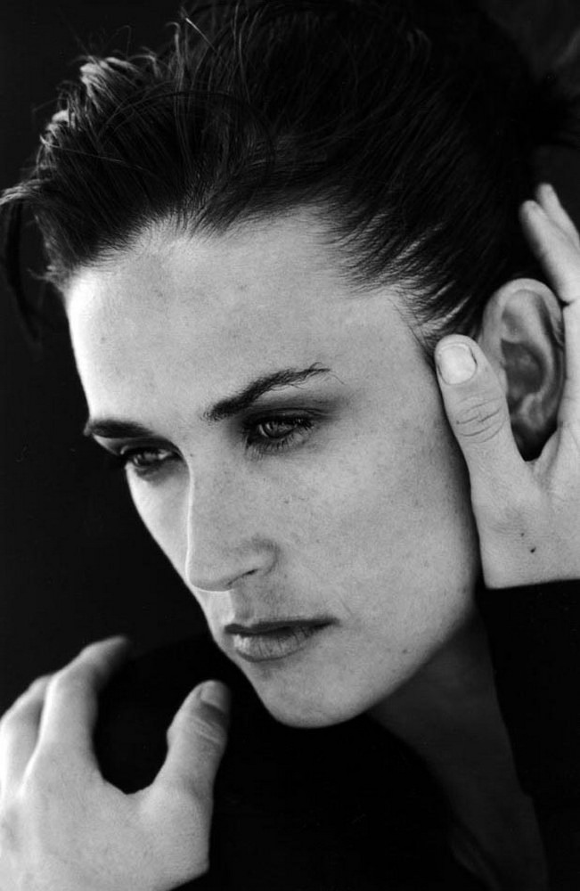 Demi Moore Hollywood celebrity's past