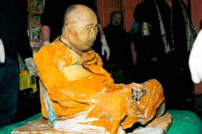 Preserved body of Dashi Dorzho Itigilov