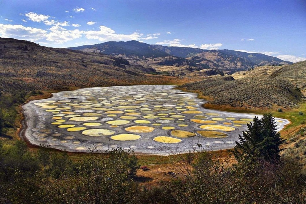 Spotted Lake, Osoyoos, British Columbia is the one of the craziest places on earth