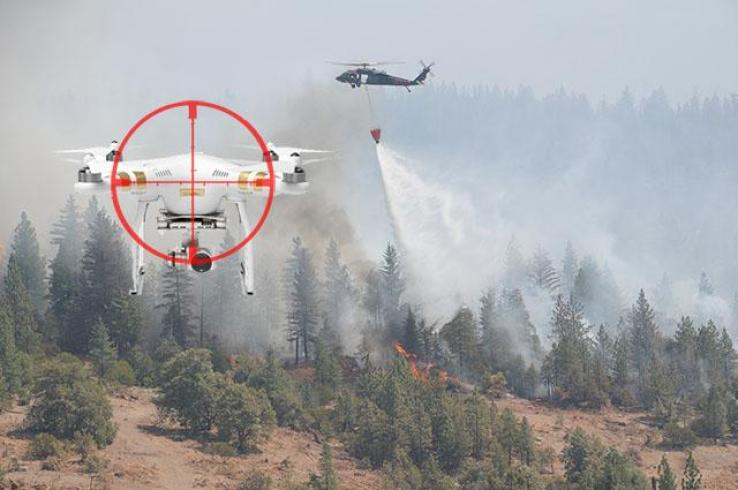 Firefighting drone - future uses of drones in firefighting