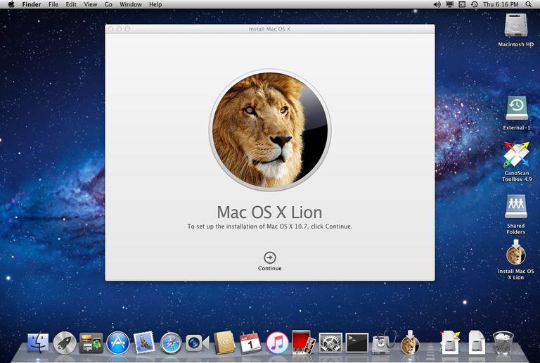 Mac OS X Lion Download Free
