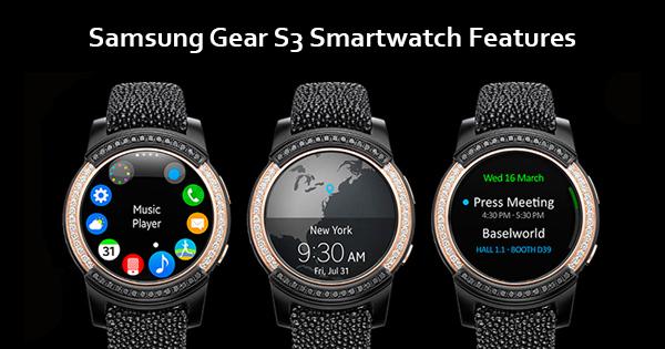 Samsung Gear S3 Update New features