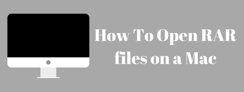 Open RAR files on a Mac