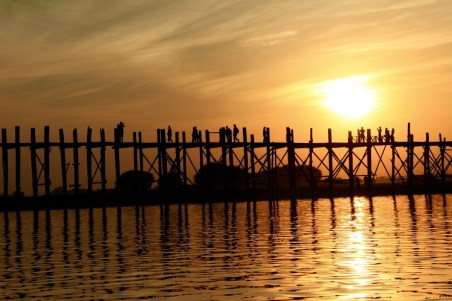 U Bein bridge Mandalay