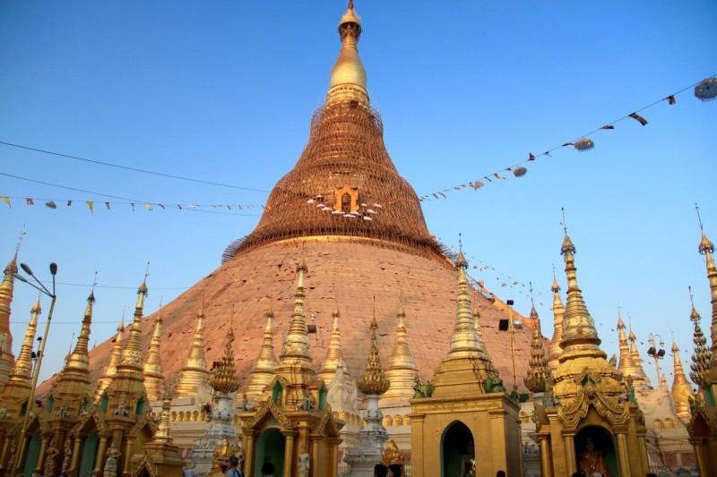 Shwedagon pagoda Yangon, Myanmar