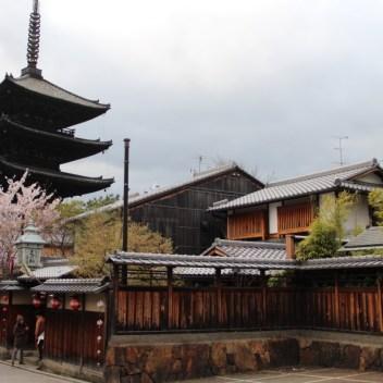 Yasaka -no pagoda, Kyoto