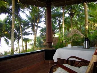 My private terrace