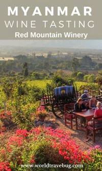 Red Mountain Winery, Myanmar