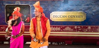 Indian luxury train Deccan Odyssey