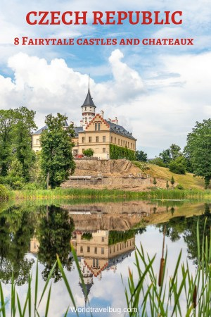 Fairytale castles, romantic chateaux, picturesque locations, hills covered in vineyards, perfectly still water ponds, elegant gardens...How does that sound? Fairytale enough? Have a look #czechrepublic #castles #europe #prague