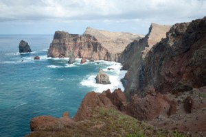 dramatic seaside clifs, Madeira - @World Travel Mama