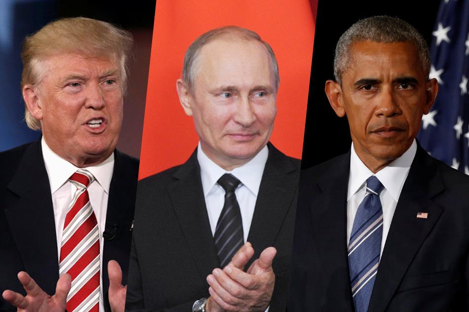 Resultado de imagen para trump, putin y obama