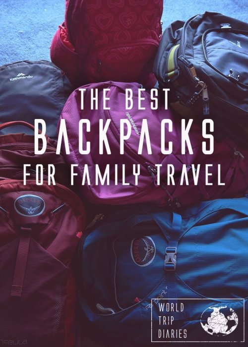 Traveling with the family isn't easy, and if it's a long-term thing, then it gets a lot more difficult. We've made a guide to help you decide which kind of bag you need and a review of what we carry around. Click for more!