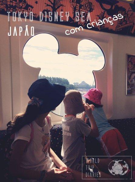 Visitamos a Disney Sea, em Tóquio, no Japão, com os nossos filhos! Clique para ler como foi!
