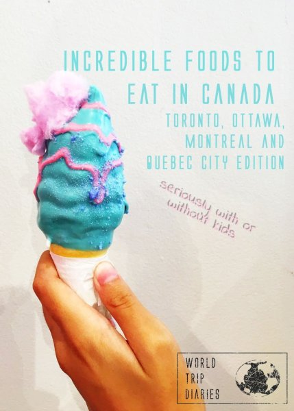 We tried a lot of food and restaurants - on research, of course - in Canada to tell you what to try and where to eat! We included a list of the best poutine there! - Click for more!