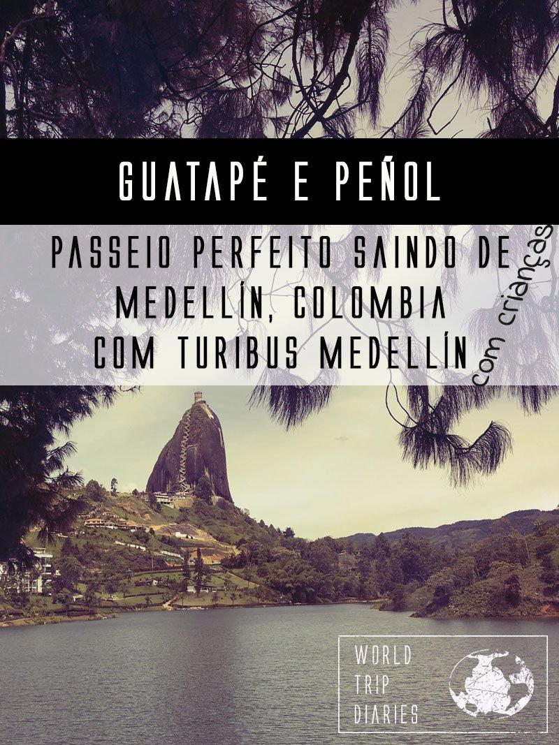 Guatapé e Peñol dão um ótimo passeio saindo de Medellin. As crianças adoraram! Clica pra ler mais!