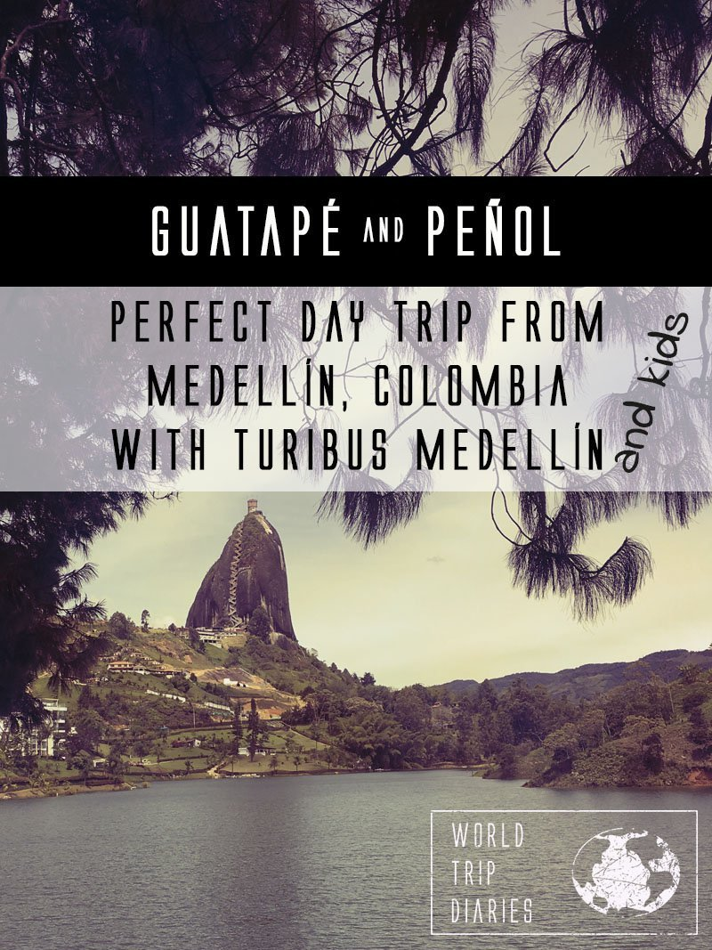 We visited Guatapé and Peñol from Medellín with Turibus Colombia. It was an amazing day trip! Click to read more!