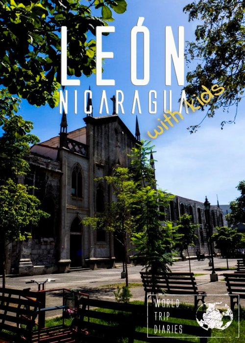 León is an incredibly beautiful colonial town in Nicaragua - we loved it! Click to read more!